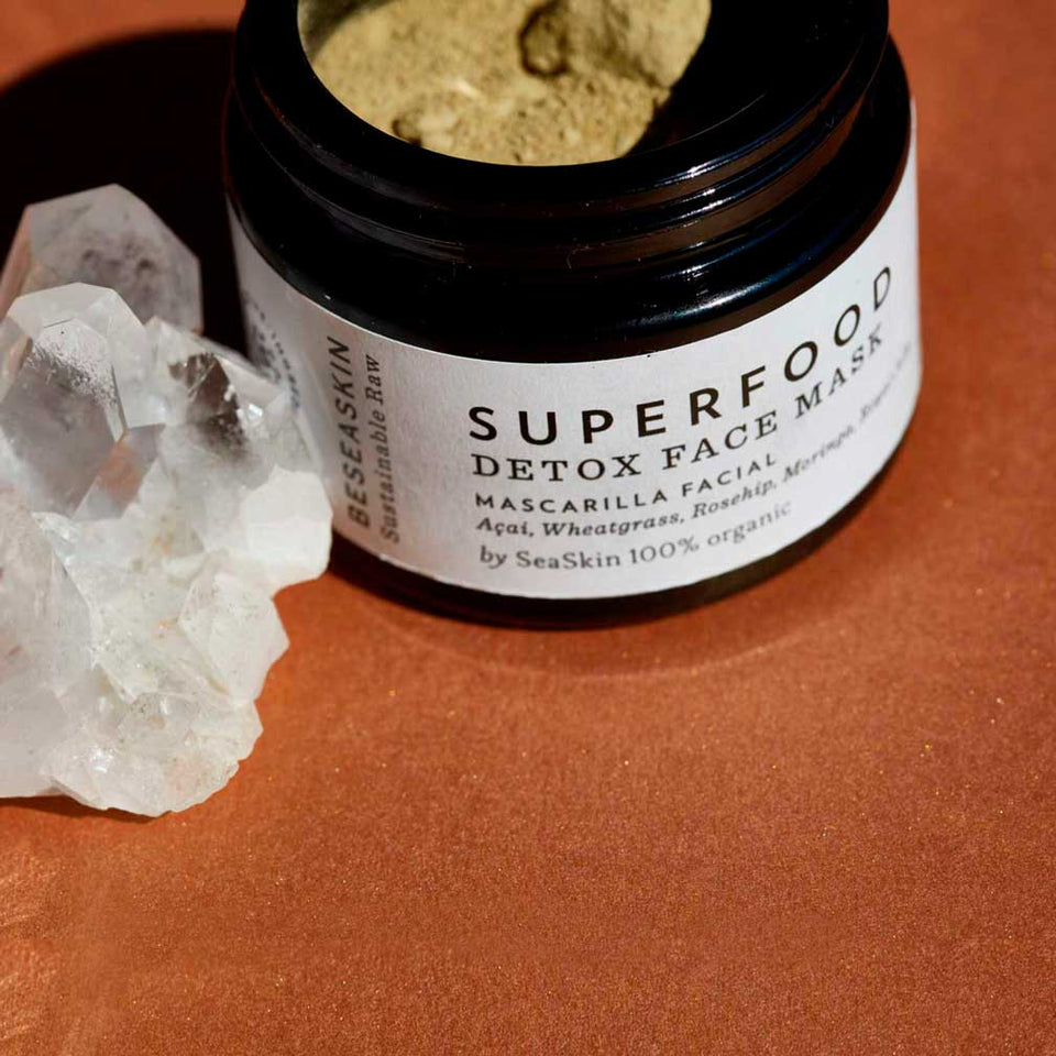 SUPERFOOD DETOX FACE MASK [Mascarilla Facial Detox | Energy & Renew]