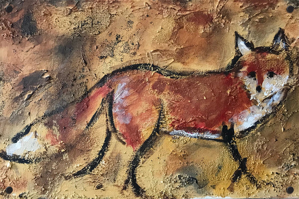 Fox on the run - Michael Peech