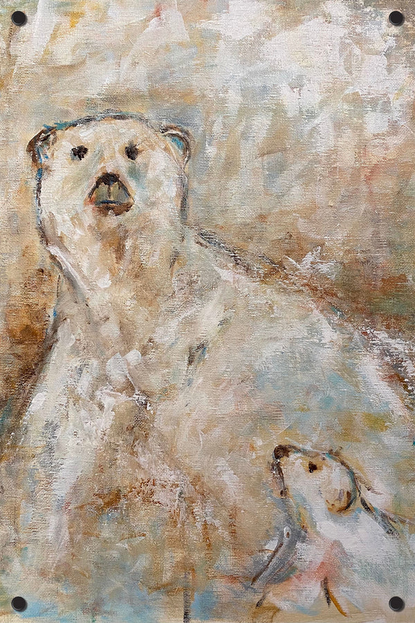 Polar Bear Outdoor Art Print