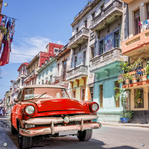 Cuban Car Outdoor Art Print
