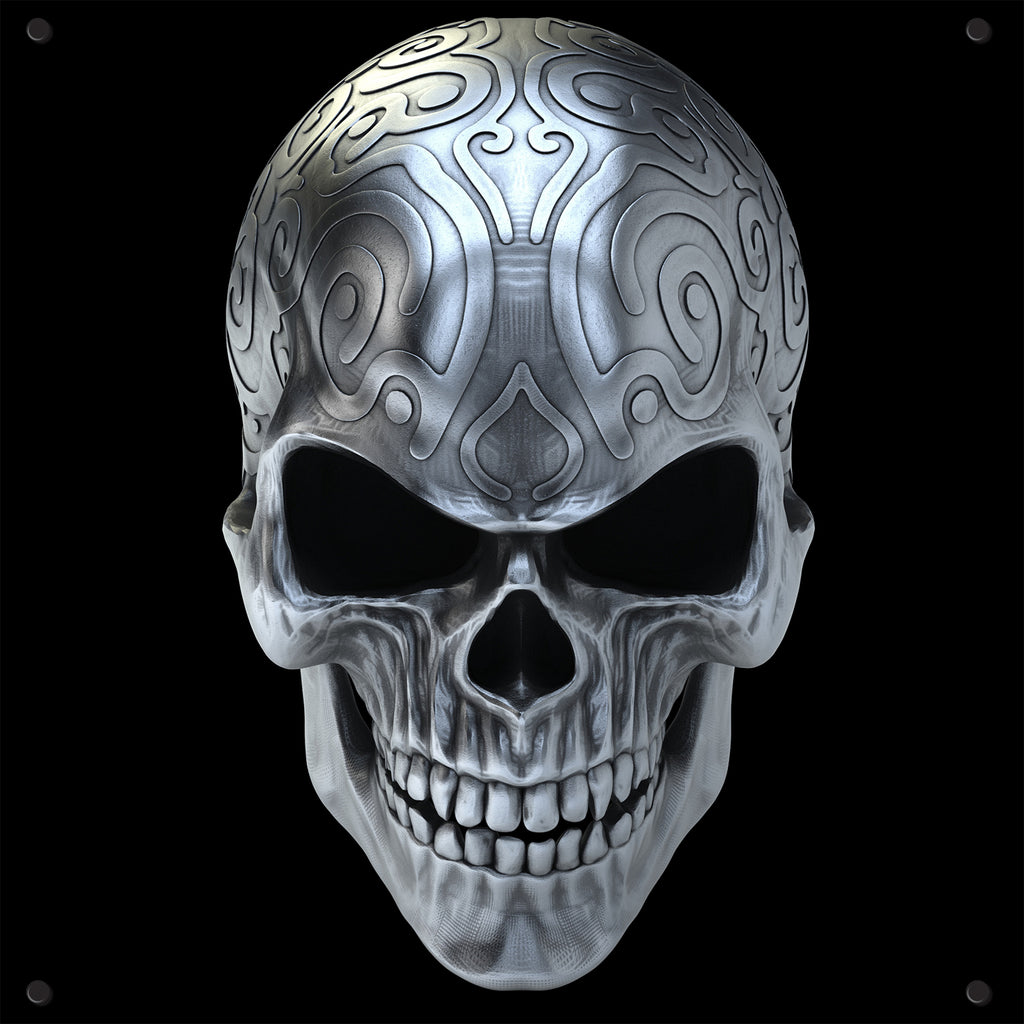 Skull Outdoor Art Print