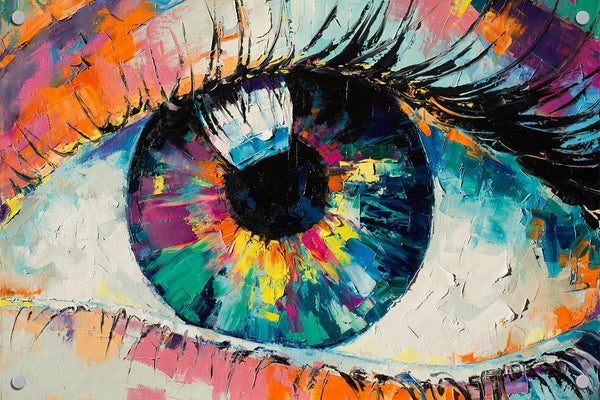 Eye Outdoor Art Print