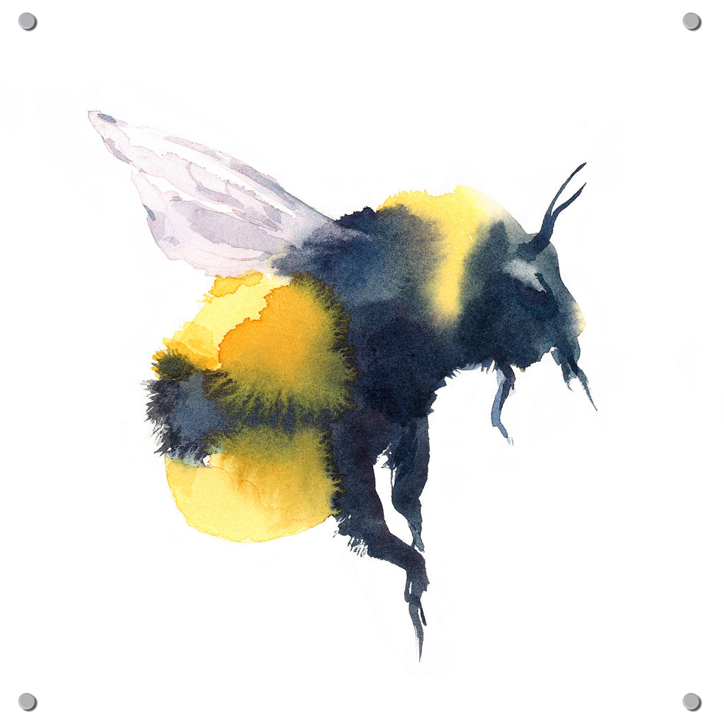 Bee Outdoor Art Print