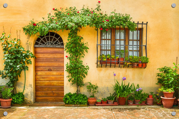 Italian Villa Outdoor Art Print
