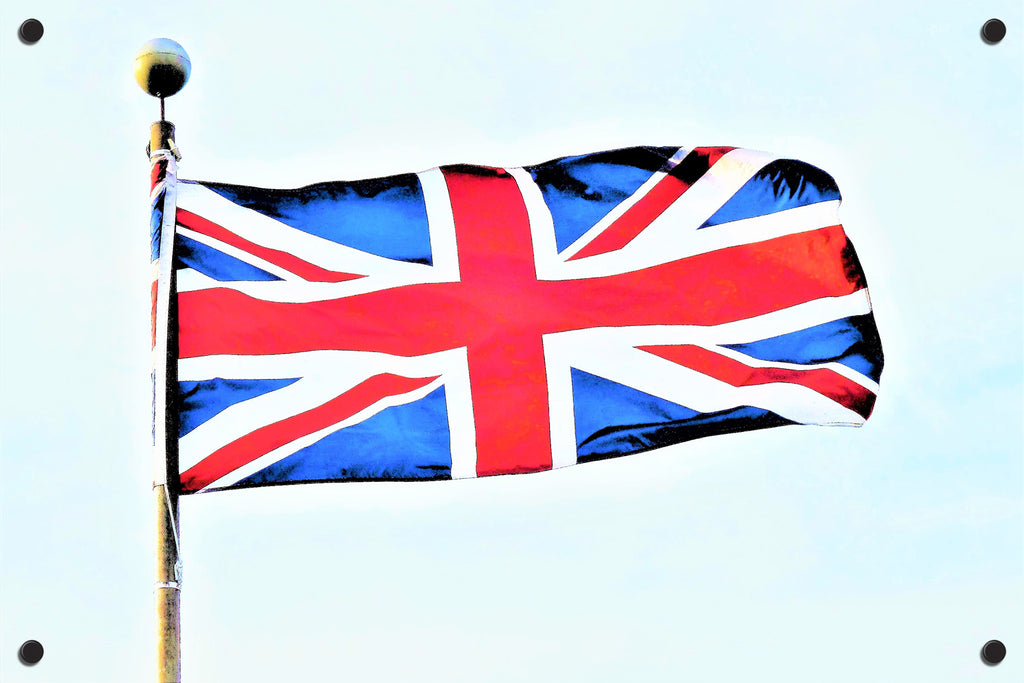 Union Jack Outdoor Art Print