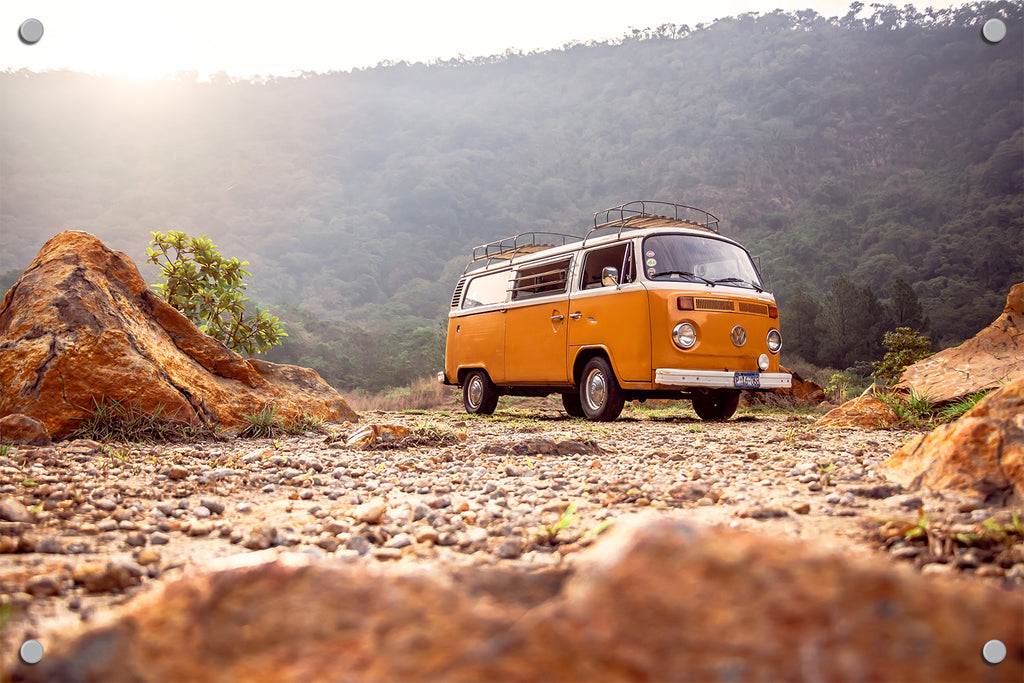 VW Bus Outdoor Art Print