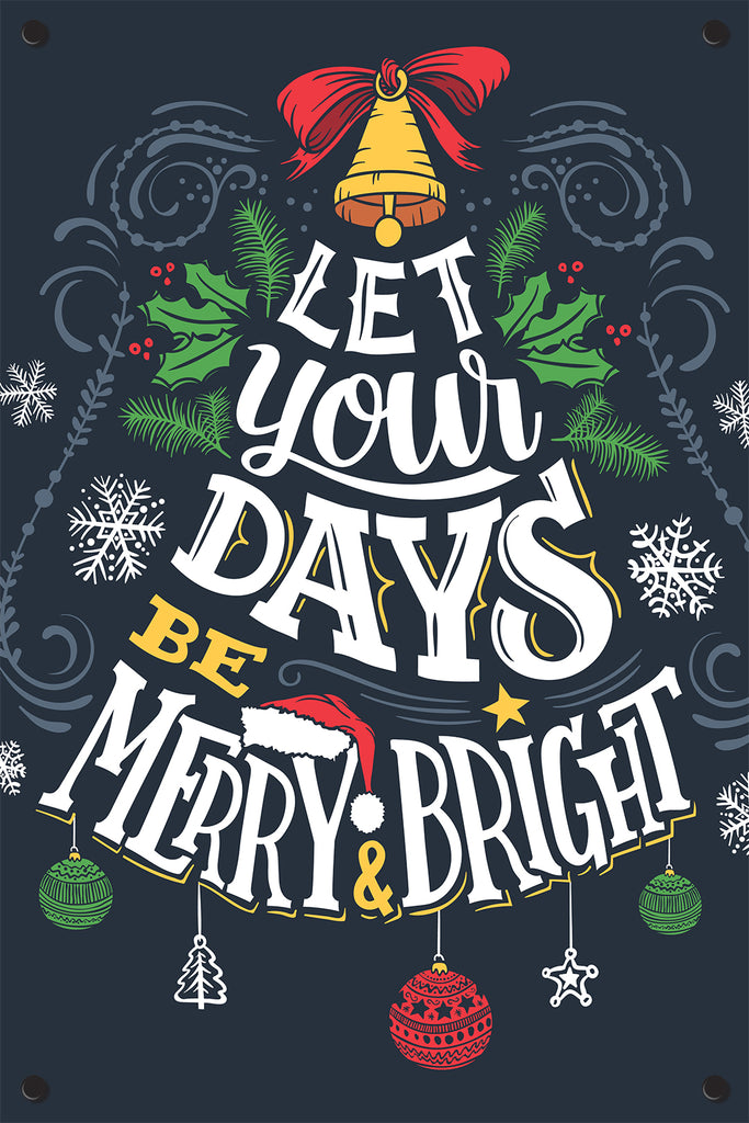 Holiday Sayings Outdoor Art Print