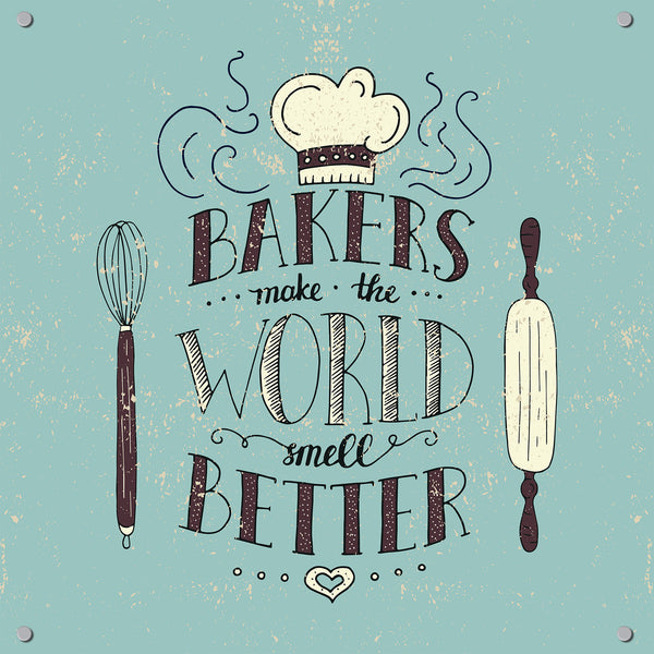 Baking Outdoor Art Print