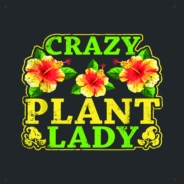 Copy of Crazy Plant Lady 2 Outdoor Art Print