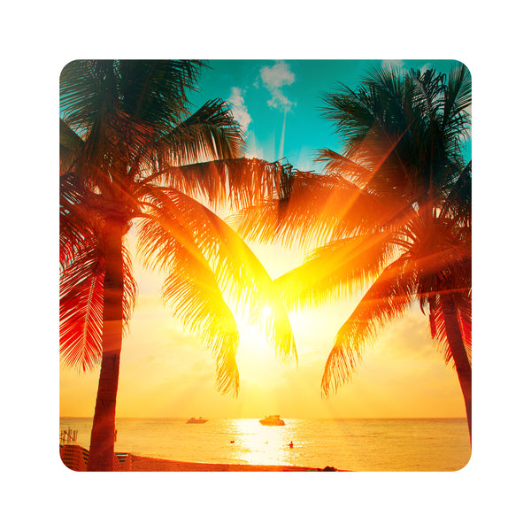 Sunset Beach Palms Coasters