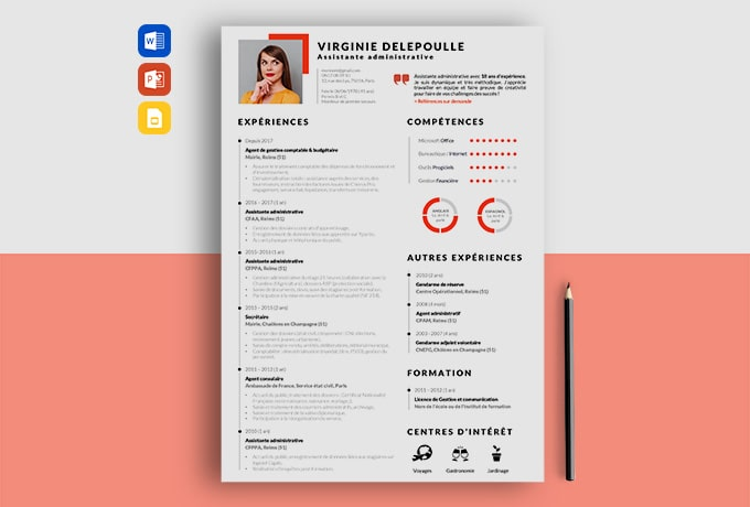 exemple de cv assistante administrative