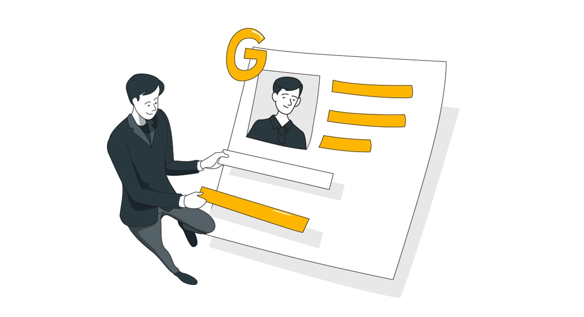 guide cv google slides