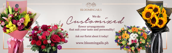 Online flower delivery Manila. Bloomingails florist Manila.
