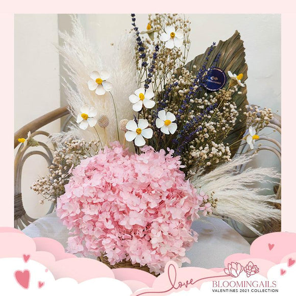 Dried Flowers in Box or Basket