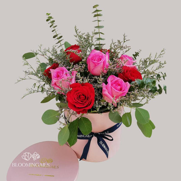 Romantic Roses Boxed Blooms-Image-1