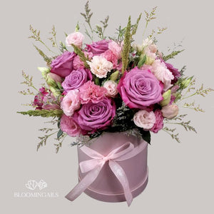 Sweet Lilac Boxed Blooms-Image-1