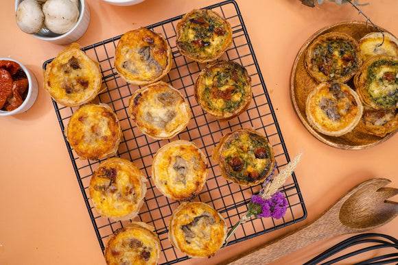 Simply Pie's Famous Savoury Mini Quiches
