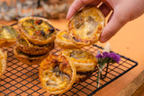 ADD ON: Simply Pie's Famous Savoury Mini Quiches Box of 16