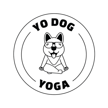 Yo Dog Yoga Straps