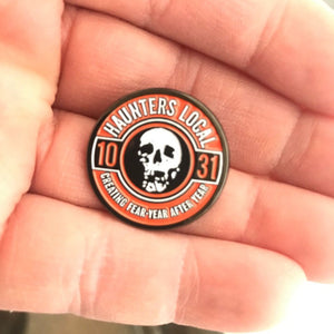 Haunters Local 1031 Enamel  Lapel Pin