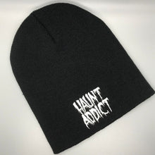 Load image into Gallery viewer, Haunt Addict Embroidered Beanie Cap