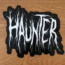 Load image into Gallery viewer, Haunter Metal Sign / Wall Art
