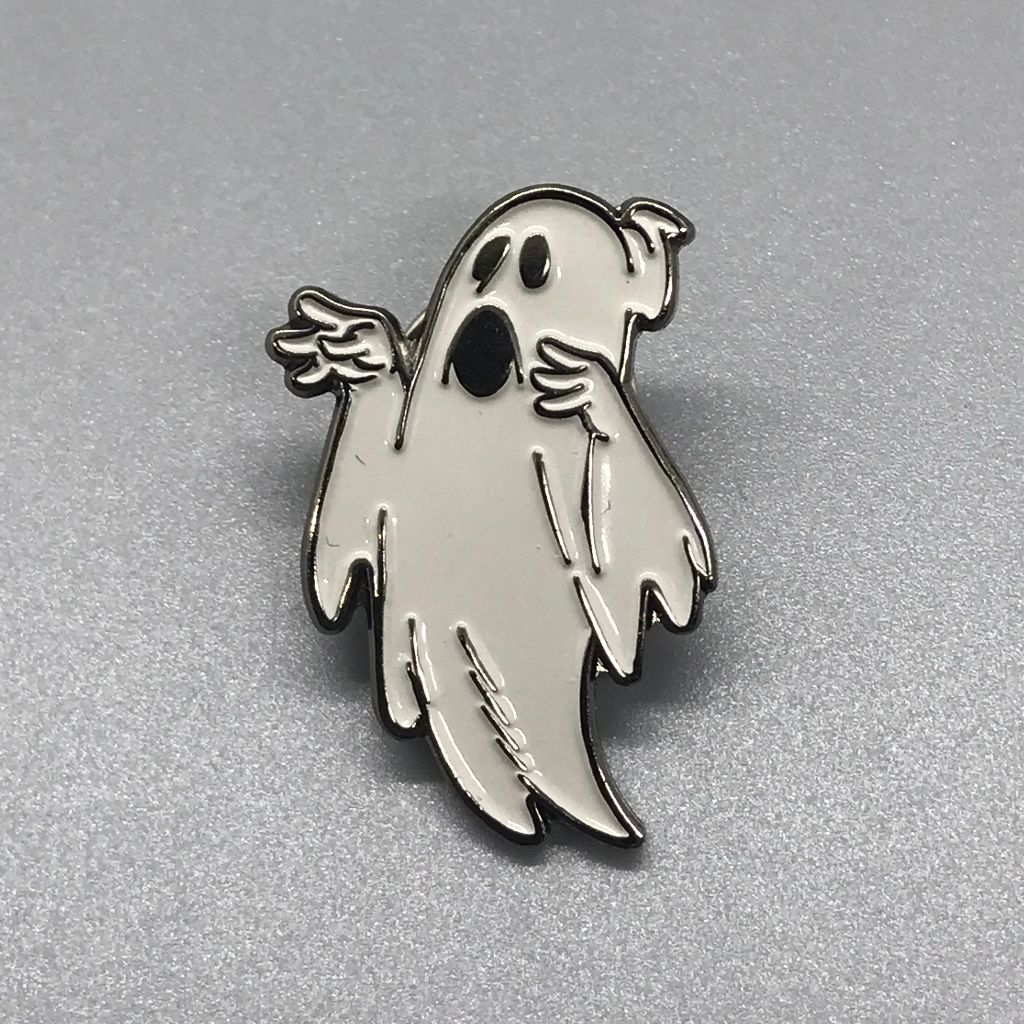 Lil' Ghostly Enamel Pin
