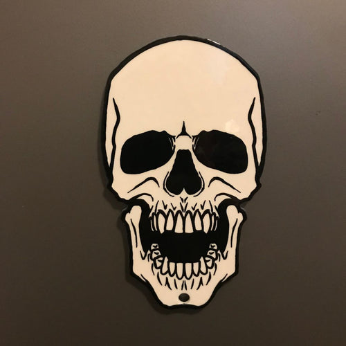 Screaming Skull Magnet