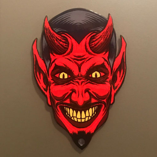 Devil Head Magnet
