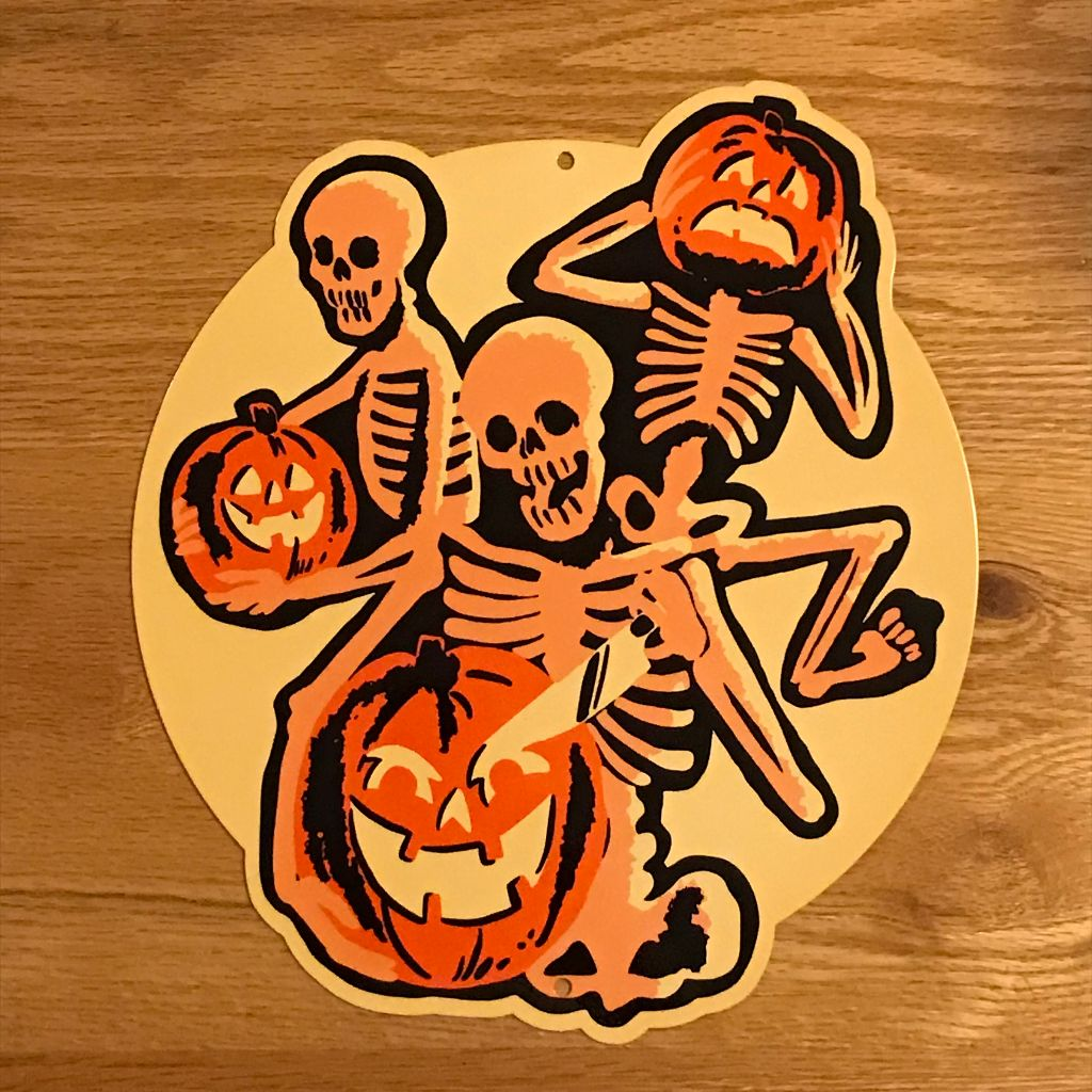 Pumpkin Carving Party Metal Sign/Wall Art