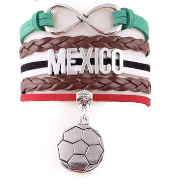 2018 World Cup Bracelet- Love Mexico