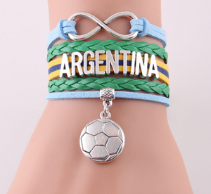 2018 World Cup Bracelet- Love Argentina