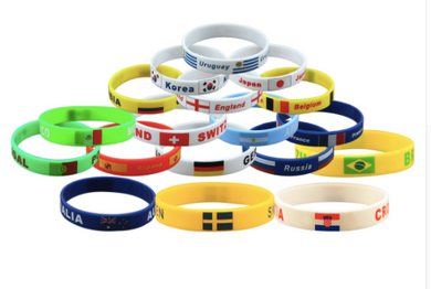 Russia World Cup 2018 Football Fans Bracelet