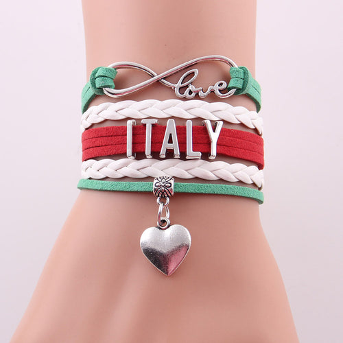 2018 World Cup Bracelet- Love Italy