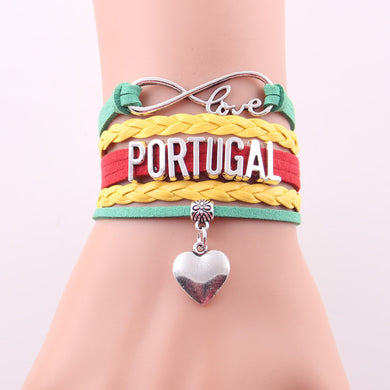 2018 World Cup Bracelet. Love Portugal.