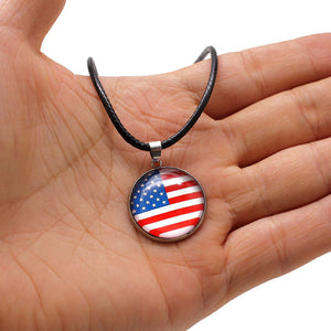 2018 World Cup National Flag Necklaces