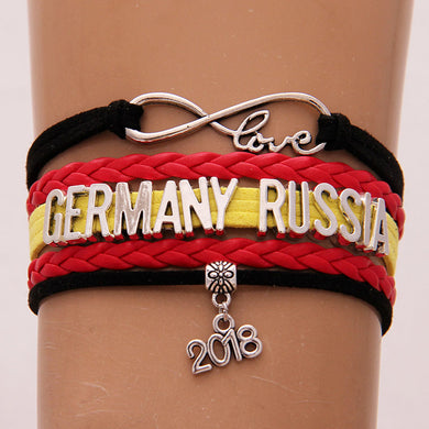 Russia 2018 World Cup Bracelet- Love Germany