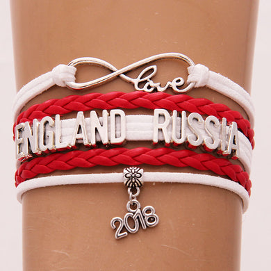 Russia 2018 World Cup Bracelet- Love England