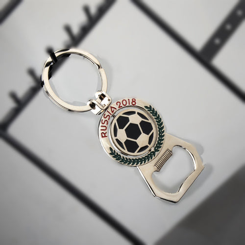 2018 Russia Football World Cup Car Key Chain Bottle Opener