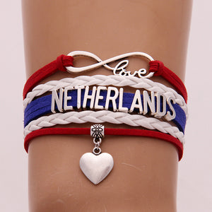 Russia 2018 World Cup Bracelet- Love Netherlands