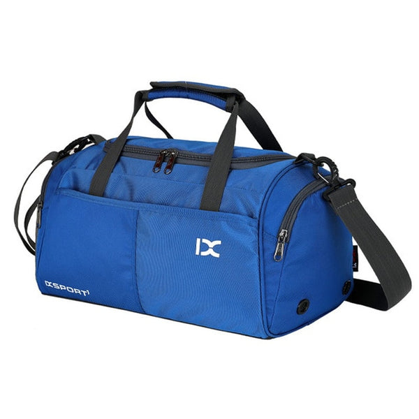 bbb07f9f3669 ... Training Gym Bags Fitness Travel Outdoor Sports Bag Handbags Shoulder  Dry Wet shoes For Women Men ...