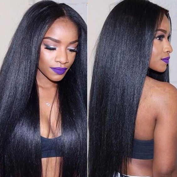 How to maintain a straight human hair weave