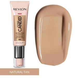 Revlon PhotoReady Candid Natural Finish Anti-Pollution Foundation - Natural Tan
