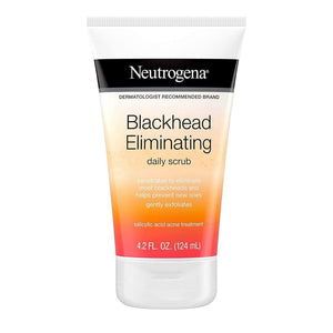 Neutrogena Spot Controlling Facial Wash 200 ml & Neutrogena Black Head Eliminating Facial Scrub 150ml