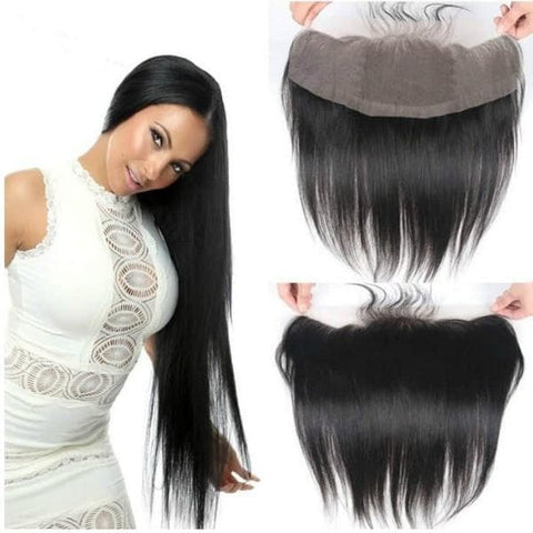 Straight Human Hair Frontal