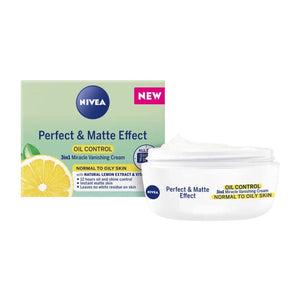 Nivea Perfect and Matte Effect 3-in-1 Vanishing Cream Norma to Oily
