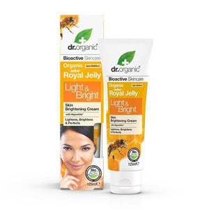 Dr. Organic Royal Jelly Light & Bright Skin Tone Correcting Cream 125Ml
