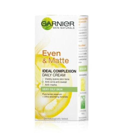 Garnier Even & Matte Normal To Oily Skin 40 Ml
