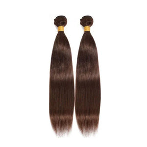 18 Inches Straight Human Hair Weave Bundle Color 2