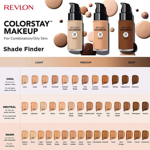 Colorstay Combo/Oil Make Up- Mahogany